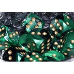 Gemini Black Green & Gold