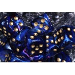 Scarab Royal Blue & Gold