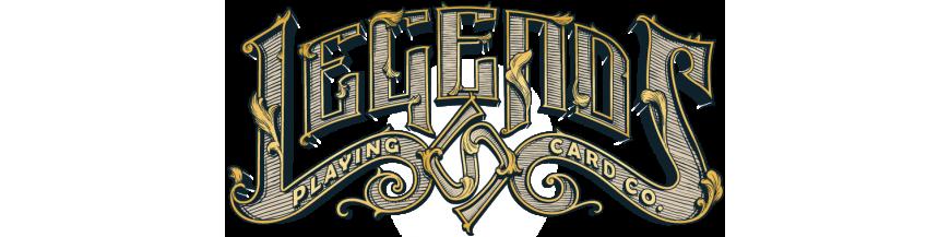 Jeux de cartes Legends Playing Card Company par Lawrence Sullivan - Gnostic Deck, Owl Eyes, Classic Twins, Serpentines